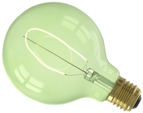 Calex Nora Dimmable 4W Very Warm White G95 Emerald Green LED Lamp