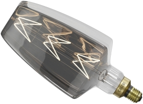 Calex Situna Dimmable 6W Very Warm White Titanium LED Lamp