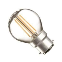 Casell 4 Watt Dimmable BC Filament LED Golfball Very Warm White (40W Alternative)