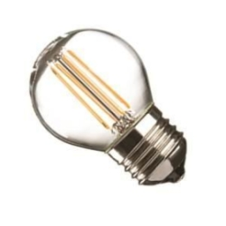 Casell 4 Watt Dimmable ES Filament LED Golfball Very Warm White (40W Alternative)