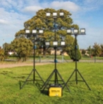 This is a Temporary Sports Lighting Kits