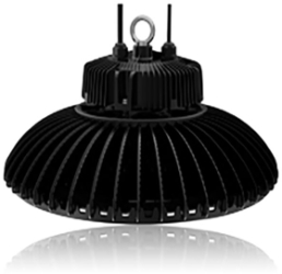 Circular High Bay 150W 5000K Dimmable LED Fitting with 110 Degree Beam Angle