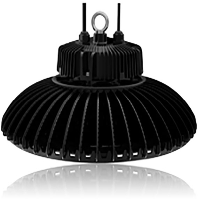 Circular High Bay 200W 5000K Dimmable LED Fitting with 110 Degree Beam Angle