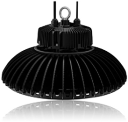 Circular High Bay 240W 5000K Dimmable LED Fitting with 110 Degree Beam Angle