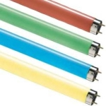 This is a Coloured T8 Fluorescent Tubes