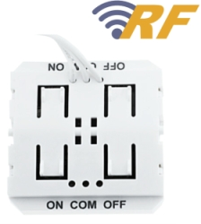 Concealed RF Transmitter Switch ALL LED