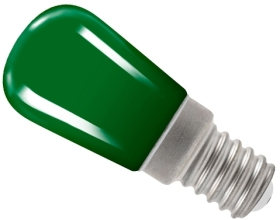 Crompton 1.3 Watt LED Pygmy/Sign Light Green (10 Watt Alternative)