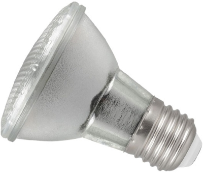 This is a 5.5W 26-27mm ES/E27 Reflector/Spotlight bulb that produces a Very Warm White (827) light which can be used in domestic and commercial applications