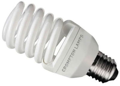Crompton Energy Saving Mini Spiral 20w Very Warm White ES (100W Alternative)