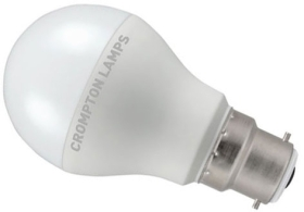 Crompton LED 110V GLS 10.5W BC Very Warm White (60W Alternative)