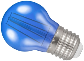 Crompton LED Blue 4W 45mm Golfball ES