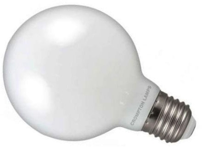 Crompton LED Dimmable G80 Globe 7W ES Very Warm White (60W Alternative)