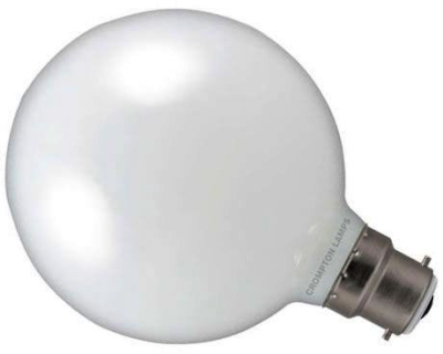 Crompton LED Dimmable G95 Globe 9W BC Very Warm White (75W Alternative)
