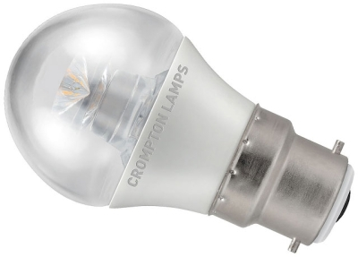 Crompton LED Dimmable Golfball 6.5W BC Very Warm White (40W Alternative)