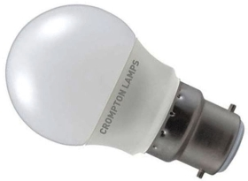 Crompton LED Golfball 5.5W BC Cool White (40W Alternative)