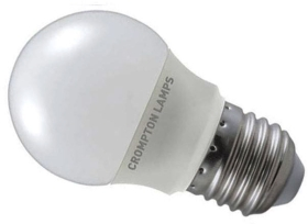 Crompton LED Golfball 5.5W ES Daylight (40W Alternative)