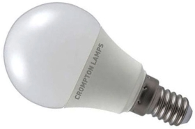 Crompton LED Golfball 5.5W SES Daylight (40W Alternative)