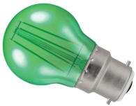 Crompton LED Golfball BC Green (40 Watt Alternative)
