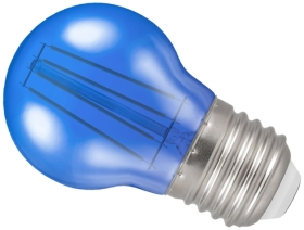 Crompton LED Golfball ES Blue (40 Watt Alternative)