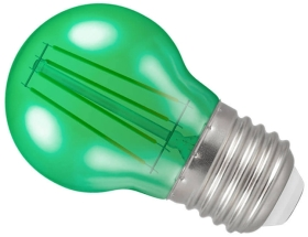 Crompton LED Golfball ES Green (40 Watt Alternative)