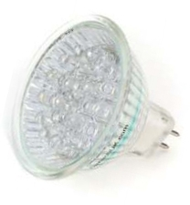 Deltech 1.2W LED Non-Dimmable MR16 UV (10 Watt Alternative)