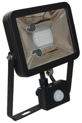 Deltech LED Flood Light 10W Warm White IP65 With Photocell Sensor (60W Alternative)