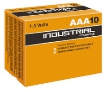Duracell AAA Type Batteries (Pack of 10)