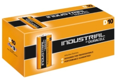 Duracell D Type Batteries (Pack of 10)