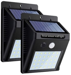 Ener-J Solar LED Wall Light with PIR Sensor (IP65 Rated)