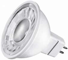 This is a 5 W GX5.3/GU5.3 Reflector/Spotlight bulb that produces a Warm White (830) light which can be used in domestic and commercial applications