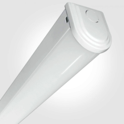 Eterna IP20 Cool White 18W White 4FT LED Economy Batten Fitting