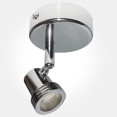 Eterna IP20 Polished Chrome Single Unswitched Spotlight (1x50W Max Lamp Required)