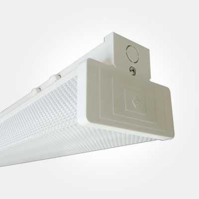 Eterna IP20 Warm White 58W Twin LPF Switchstart Fluorescent Batten with Diffuser (2x Lamps Included:
