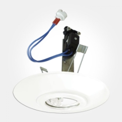 Eterna IP20 White Ceiling Downlight Converter (Requires 50W Max Lamp) LAMP NOT INCLUDED