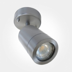 Eterna IP44 Stainless Steel Single Directional Wall Light (1x35W Max Lamp Required) LAMP NOT INCLUDE
