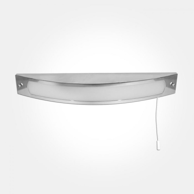 Eterna IP44 Warm White 12W Polished Chrome LED Decorative Over Mirror Light