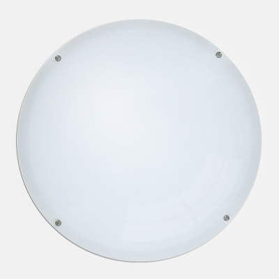 Eterna IP65 12W Circular LED Economy Ceiling / Wall Light Fitting with Photocell 4200K