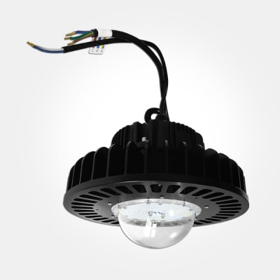 Eterna IP65 Cool White 150W Black 1-10V Dimmable LED Circular High Bay