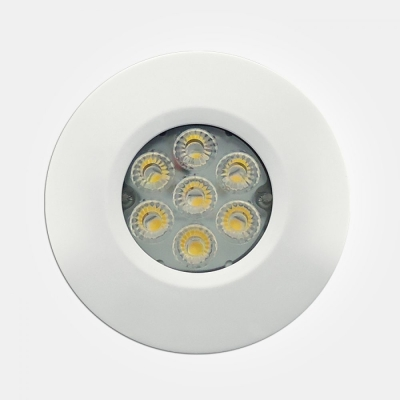 Eterna IP65 Cool White 6.5W White Dimmable LED Fire Rated Integrated Downlight with 4 Pole Connector