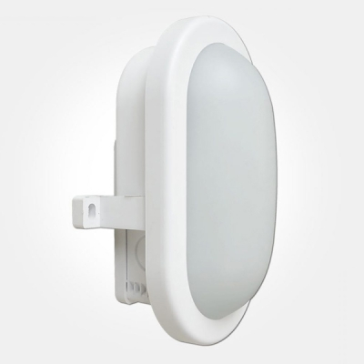 Eterna IP65 Cool White 6W White Atom LED Bulkhead