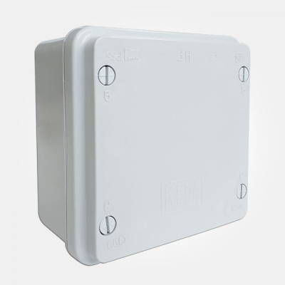 Eterna IP65 Grey Plastic Adaptable Box (110mm x 110mm x 65mm)