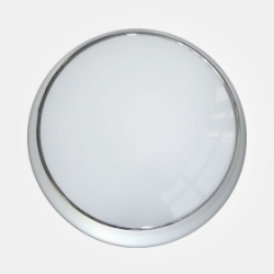 Eterna IP65 Warm White to Daylight 17W Colour Selectable Polished Chrome Emergency LED Wall/Ceiling