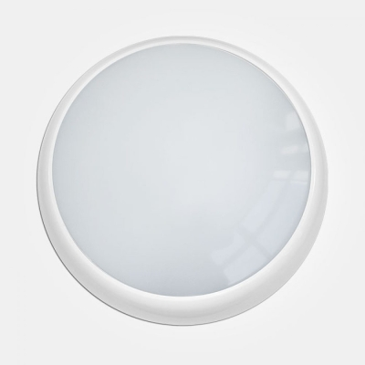 Eterna IP65 Warm White to Daylight 17W Colour Selectable White LED Wall/Ceiling Light + MW Sensor