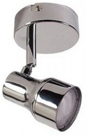 Eterna Low Energy CFLi Single Spotlight 11W GU10 Polished Chrome