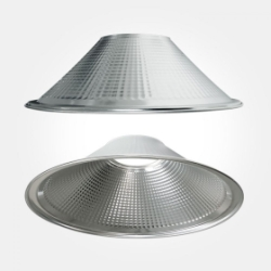 Eterna Silver Aluminium 90 Degree Reflector for Circular High Bay