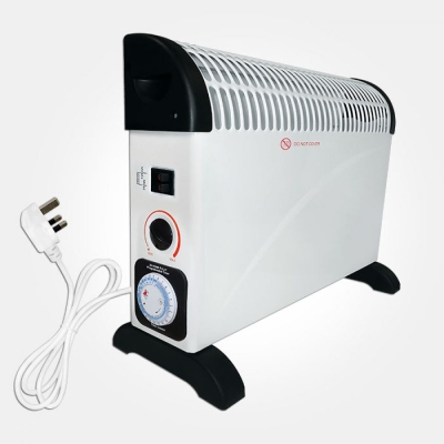 Eterna White 2KW Convector Heater with 24 Hour Timer