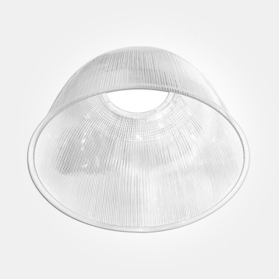 Eterna White Polycarbonate 60 Degree Reflector for Circular High Bay