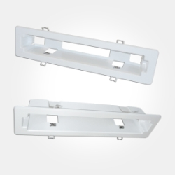 Eterna White Recessed Mounting Kit for EXITMMO