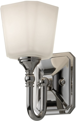 Feiss Concord IP44 G9 Bathroom 1 Light Wall Light in Polished Chrome Finish