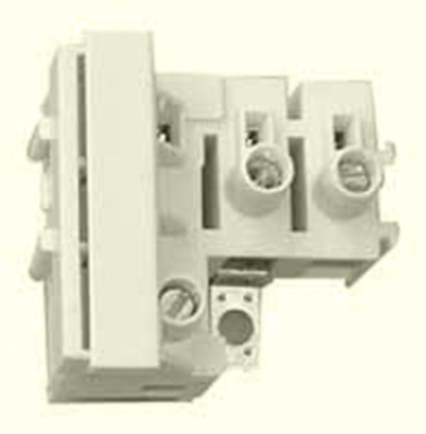 Fuse Terminal Block 10amp 400v with Screw Fixing